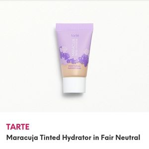 NEW, SEALED TARTE MARACUJA TINTED MOISTURIZER FAIR